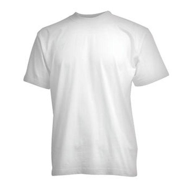 CAMUS witte grote maten T-shirt