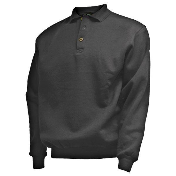 CAMUS 381101 noir polo sweater grandes tailles