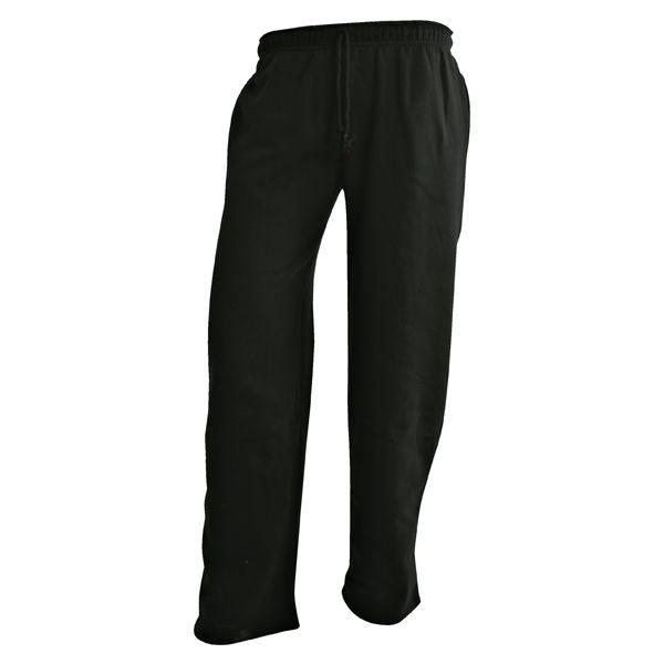CAMUS Zwarte grote maten joggings broek