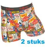 75335 Duo pack Popcorn grote maten boxer short