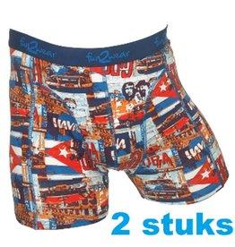75344 Duo pack Havana grote maten boxer short