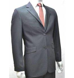 V&H Suits 300 Grande taille Costume Noir