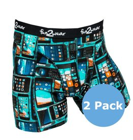 FUNDERWEAR 75283 Phone grandes tailles boxer short