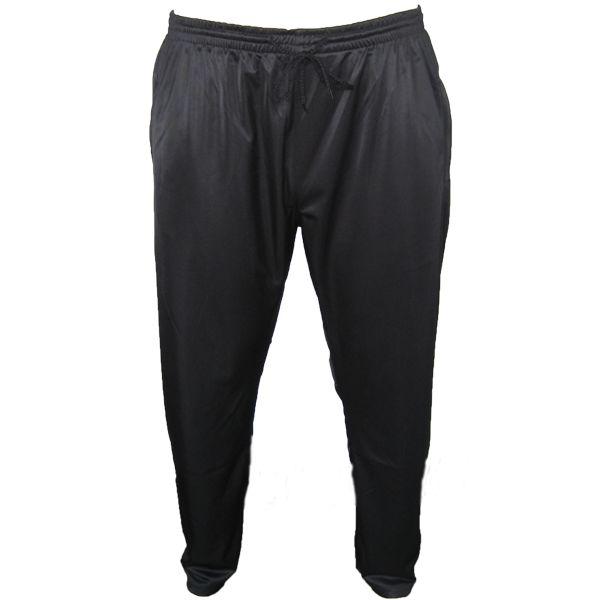 Kingsize Brand J051 Pantalon Jogging Tricot de grandes tailles Noir