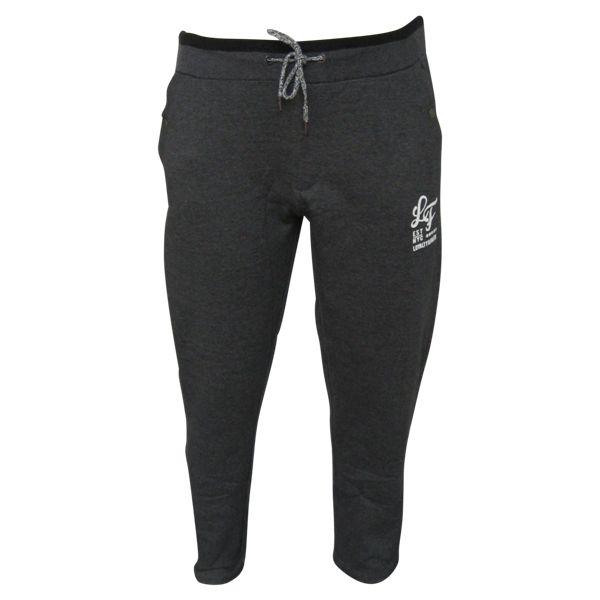 JackSantos J3001 Pantalon Jogging de grandes tailles Noir