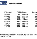 JackSantos J3002 blauwe grote maten joggingsbroek