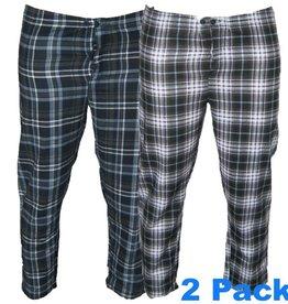 Kingsize Brand Grote maten 2 pack pyama broeken