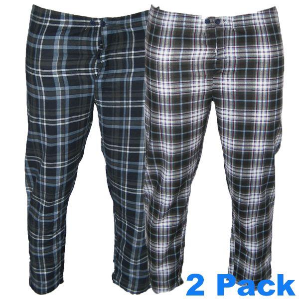 Kingsize Brand 8563 Grote maten Pyjamabroek (2-pack)