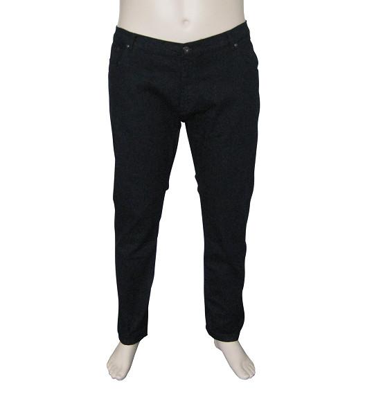 KMS 490 grote maten zwarte Jeans
