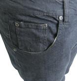KMS 490 Stretch Jeans de grandes tailles Noir