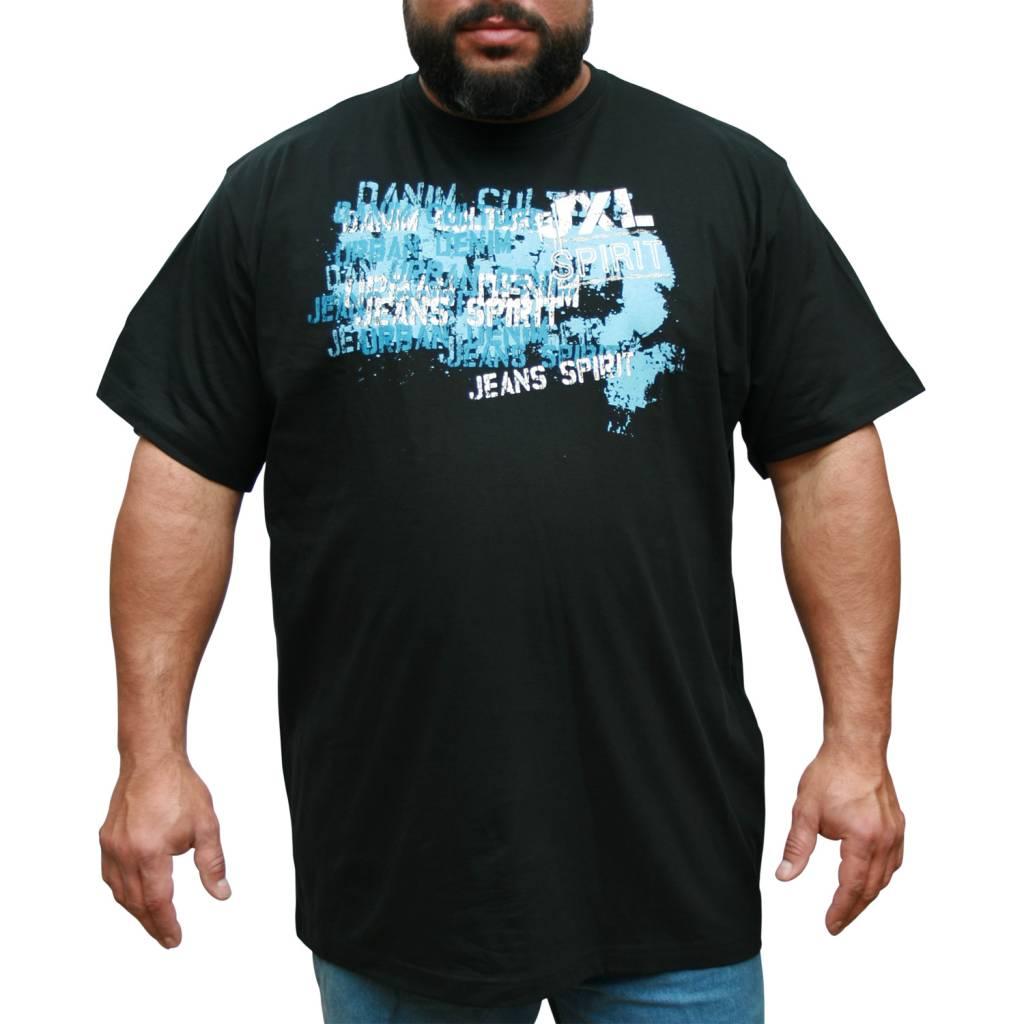 Black t shirt xl - Jeansxl 710 Black T Shirt