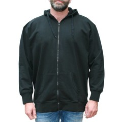 VANDAM 8801 Black sweatcardigan