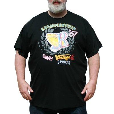 VANDAM 7710 Black T-shirt