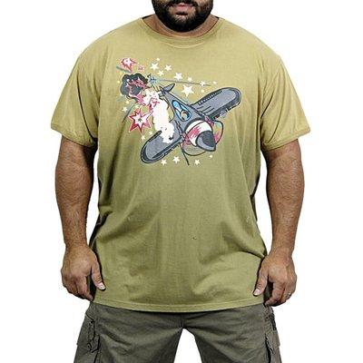 JeansXL 751 green T-shirt