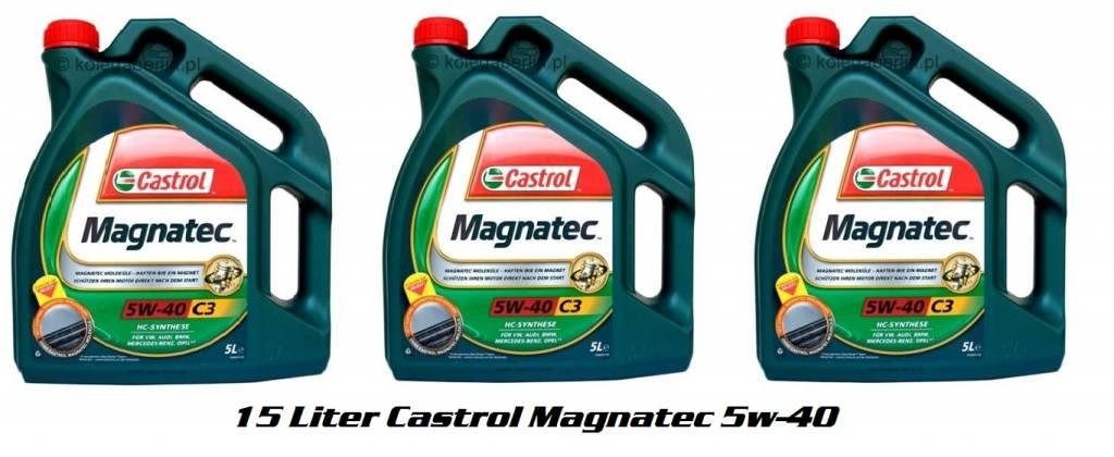 Castrol MagnaTec 5w40 C3 - 15 Liter € 99,00