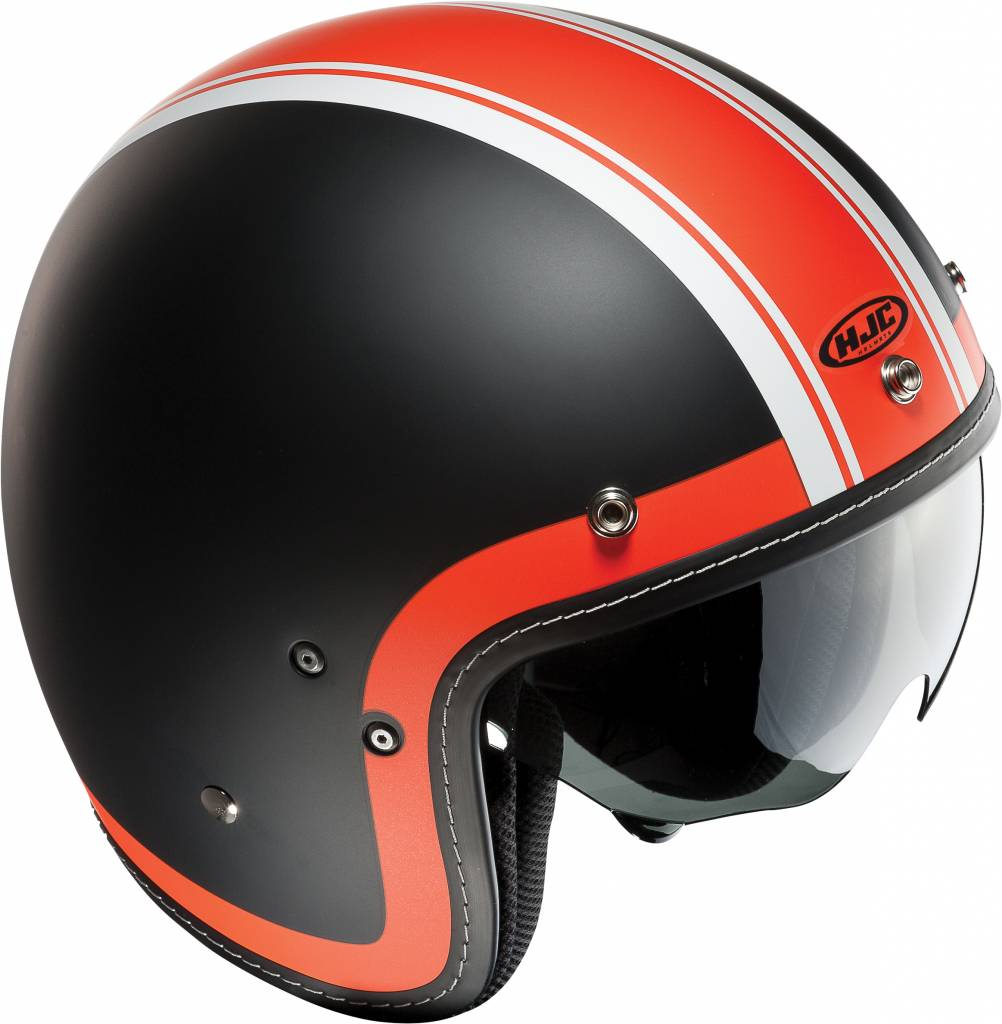 hjc fg 70s heritage motorhelm. Black Bedroom Furniture Sets. Home Design Ideas