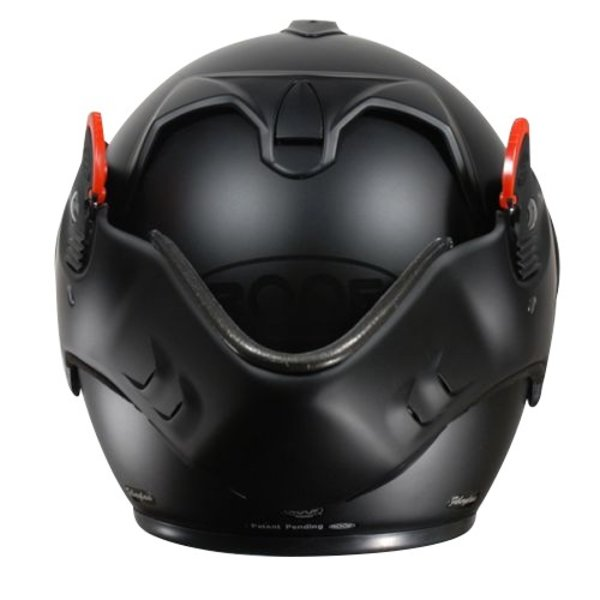 ROOF Boxer V8 Full Black Motorhelm