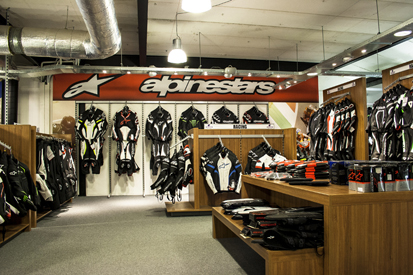 Vêtements moto Centre Alpinestars corner