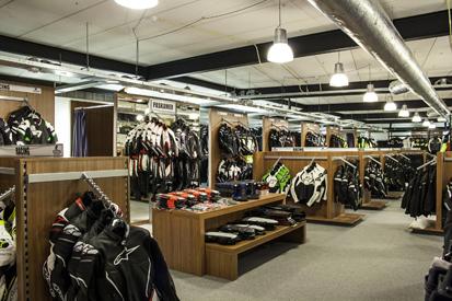 Motorkledingcenter sport en tour kleding