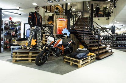Vêtements moto Centre KTM Duke 690