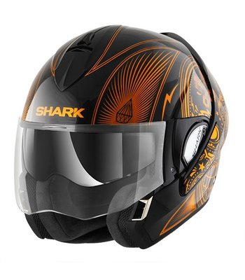Shark Evoline 3 Mezcal Chrome