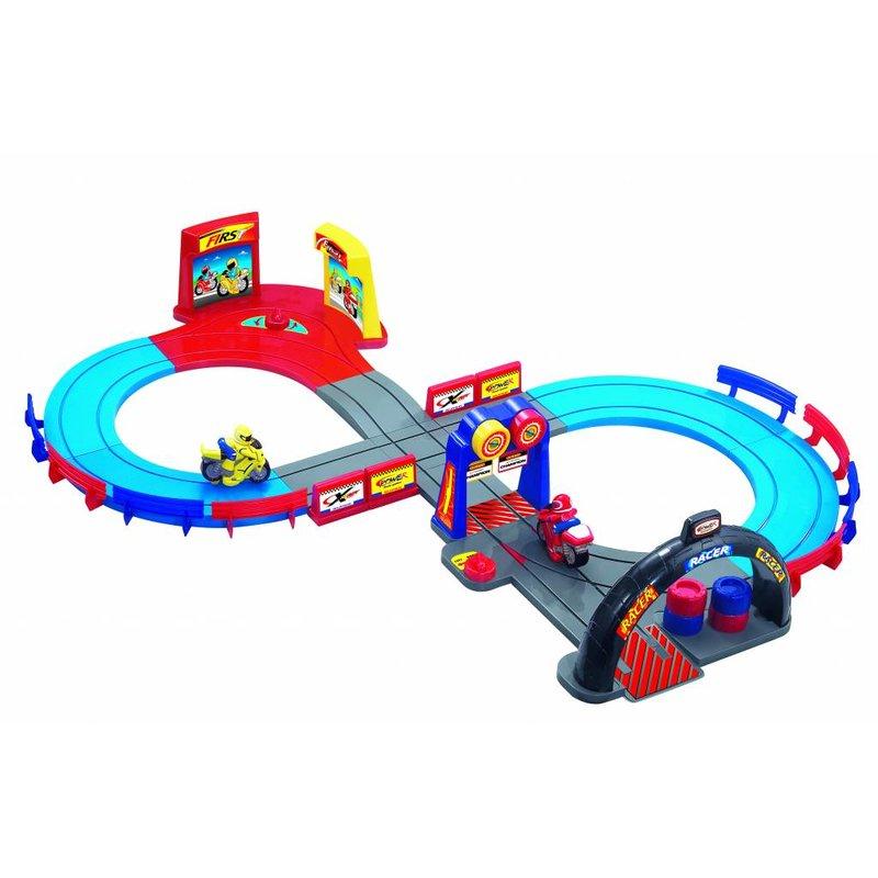 Booster Motorcycle Racetrack speelgoed