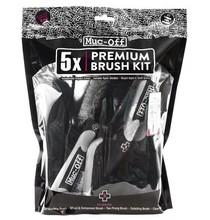 Muc-Off Premium Brush kit 5-delig