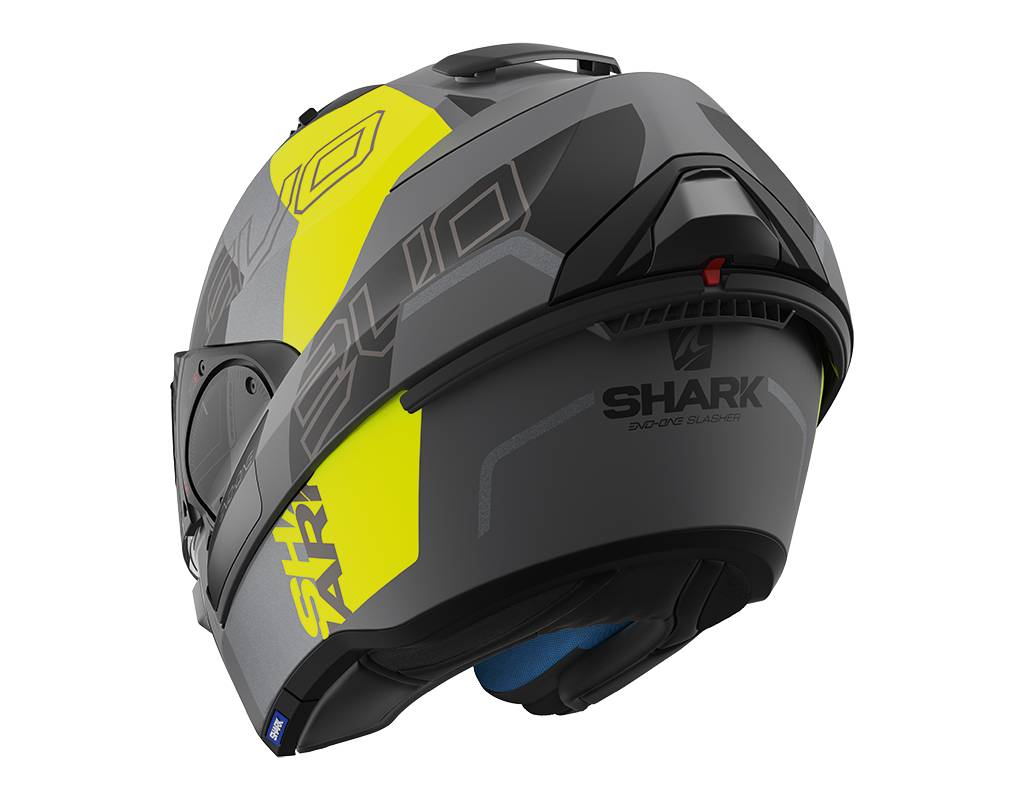 shark evo one 2 slasher motorhelm. Black Bedroom Furniture Sets. Home Design Ideas