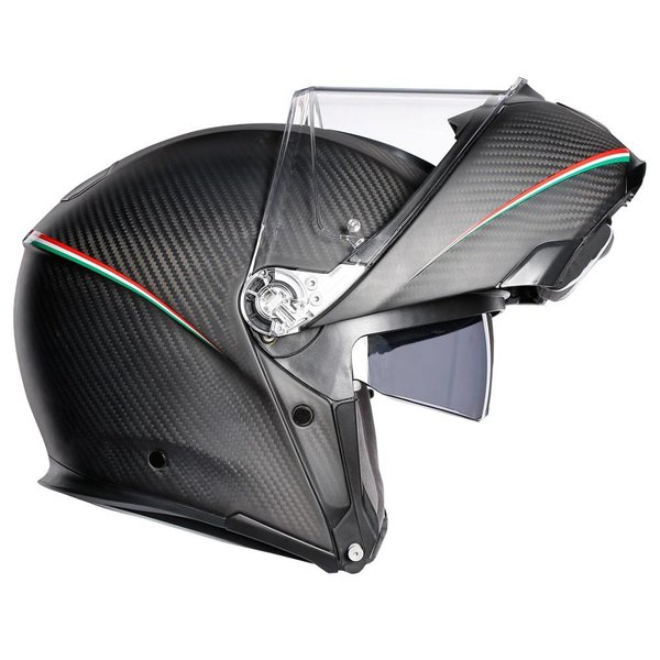 AGV Sportmodular Tricolore motorhelm