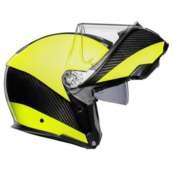 AGV Sportmodular Hi-Vis motorhelm