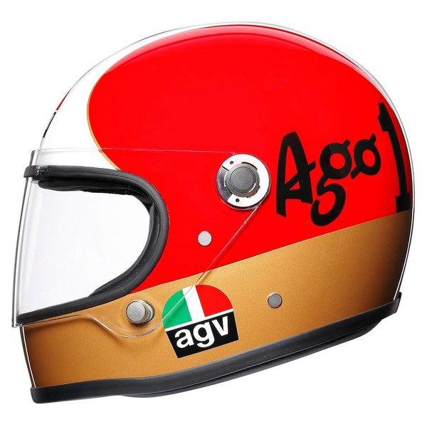 AGV X3000 AGO #1 gelimiteerde motorhelm