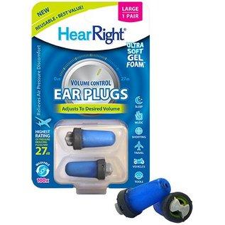 SleepRight Oordoppen HearRight - Volume Control