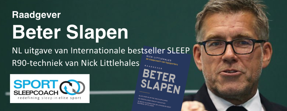 Nick Littlehales Sport Sleep Coach - SleepSupport.nl