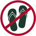 The Ostholsteiner - absolut no flip-flops