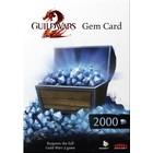 Arenanet Guild Wars 2 - Gem Card 2000
