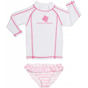 UV-Shirt & Bikinibroekje White & Pink - Snapper Rock