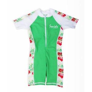 UV-baby zwempakje Jungle Green - Squids Sunwear