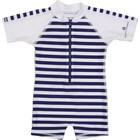UV Badpak Baby 'Navy White Stripe' - Snapper Rock