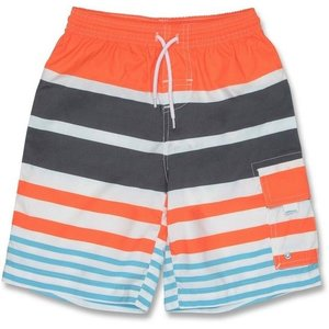 UV Boardshort Orange/Stripe - Snapper Rock
