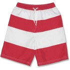 UV Boardshort Red/White - Snapper Rock