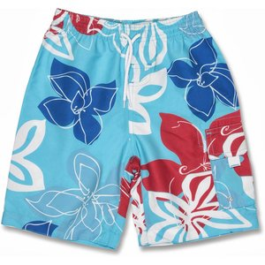 UV Boardshort Royal Red Tropical - Snapper Rock