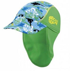UV-petje Sealife groen (0-3jr) - Beco