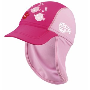 UV-petje Sealife Roze (3-7jr) - Beco