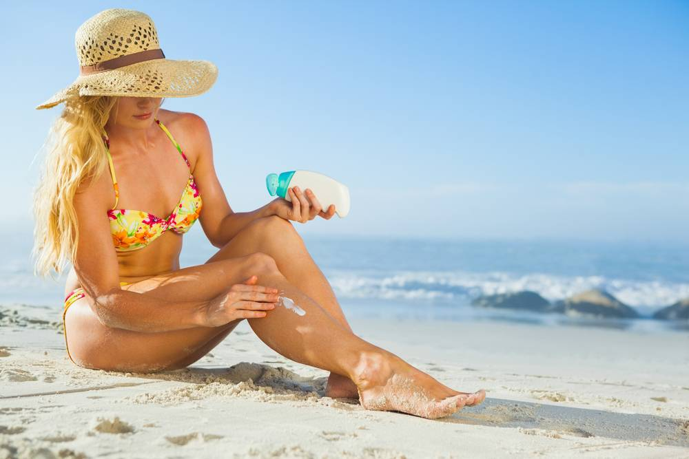 Ook met zonnebrandcrème kans op huidkanker!