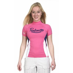 Rashguard Dames Pure Girl Roze - Prolimit