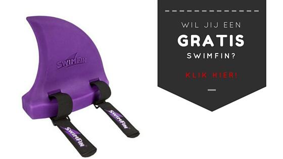 Win een SwimFin haaienvin voor op je rug