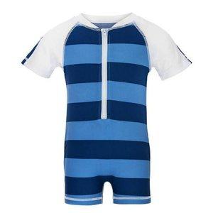 UV-Baby badpak 'Denim Stripe' - Snapper Rock
