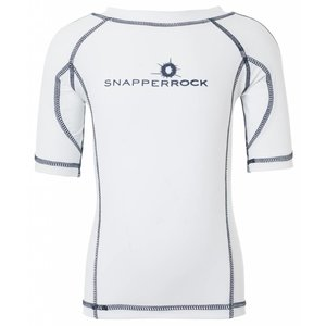 UV-Shirt White & Navy - Snapper Rock