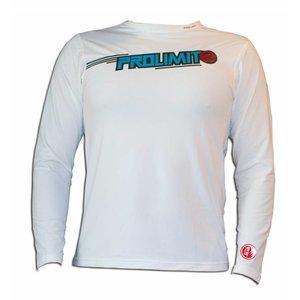 UV Sport T-shirt Wit Long Sleeve - Prolimit