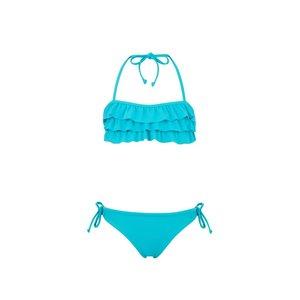 Aqua Ruffle bandeau Bikini - Snapper Rock